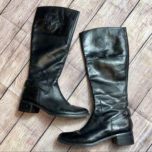 ETIENNE AIGNER   Black Knee High Boots Size 8